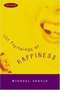 A picture of the cover of Michael Argyle's <em>The Psychology of Happiness.</em>