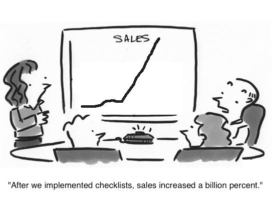 checklist-sales